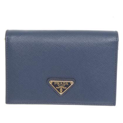 Prada Wallet in blue