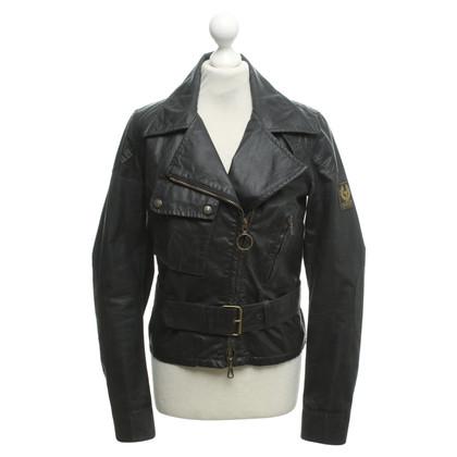 Belstaff biker jacket in black