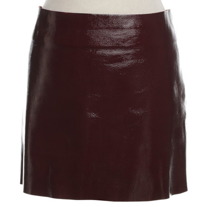 Maje Patent Leather Mini Rok
