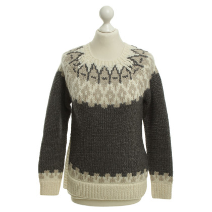 Moncler Knitted sweater with pattern