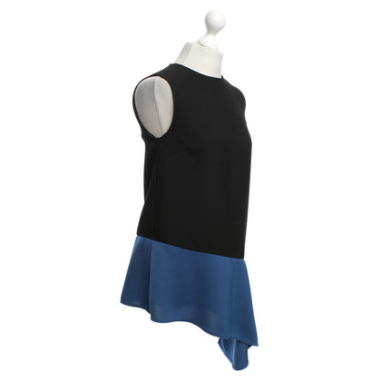 Balenciaga Dress in black / blue