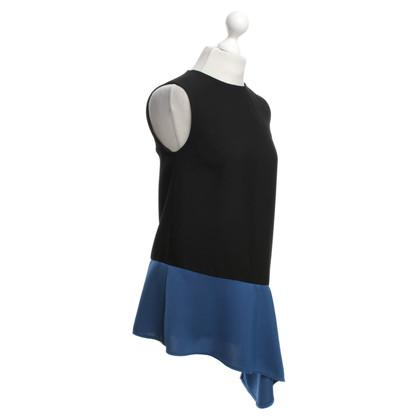 Balenciaga Abito in nero / blu