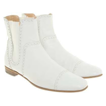 Hermès Leather ankle boots