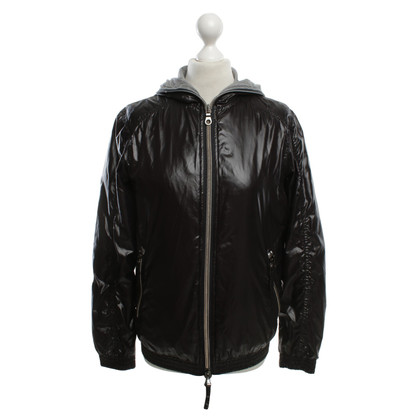 Duvetica Shiny jacket in black