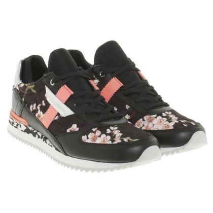 Dolce & Gabbana Sneakers met bloemmotief