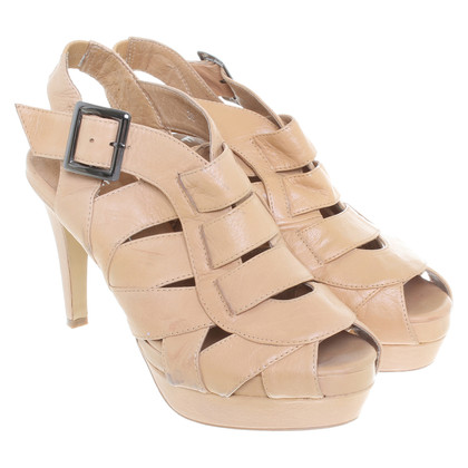 Office London  Platform Sandals beige