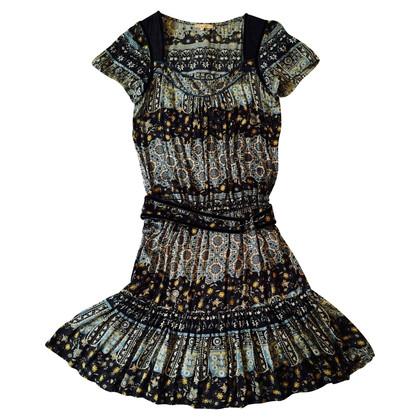 Sandro zijden jurk