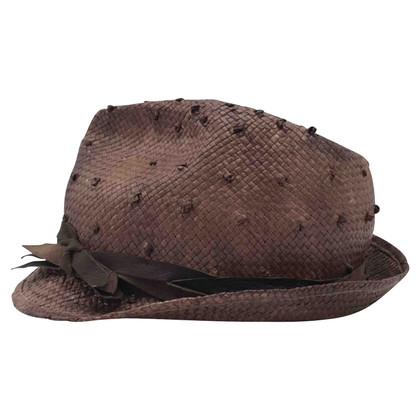 Brunello Cucinelli Cappello in marrone
