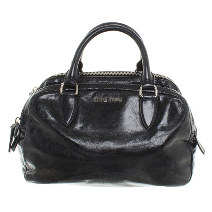 Miu Miu Handbag in Dark Blue