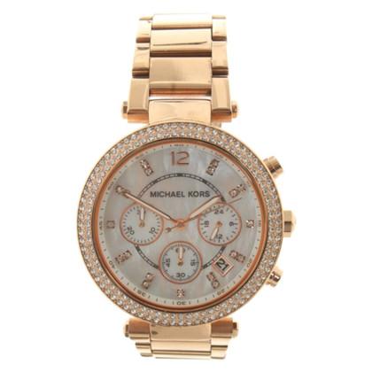 Michael Kors Goldfarbene Armbanduhr