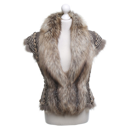 Jean Paul Gaultier Fur vest in brown