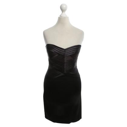 BCBG Max Azria Bandeau-Kleid in Bicolor