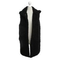 Theory Oversize vest in black