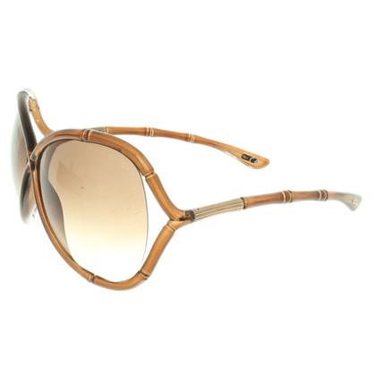 Tom Ford Sonnenbrille in Braun