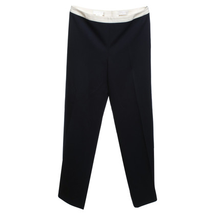 Escada Wool trousers in dark blue