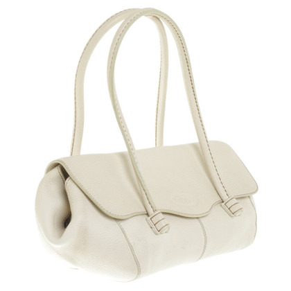 Tod's Handtasche in Creme