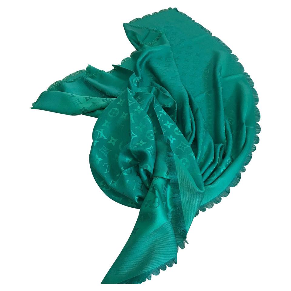 Louis Vuitton Green Louis Vuitton shawl