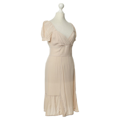 Miu Miu Silk dress in nude
