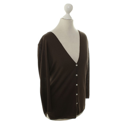 Allude Cardigan with V-neck