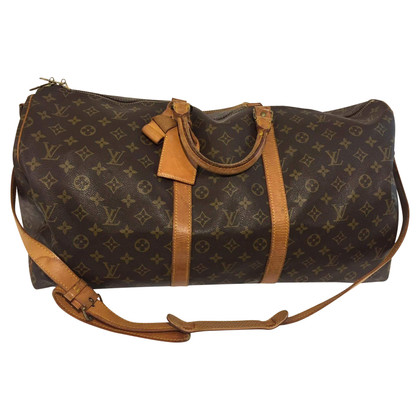 "Louis Vuitton ""Keepall 55 Monogram Canvas"" with strap"