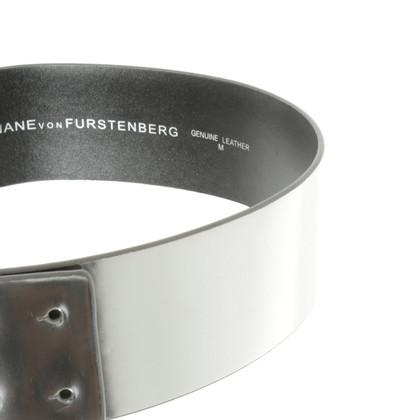 Diane von Furstenberg Belt in silver