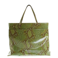 John Galliano Shopper aus Schlangenleder