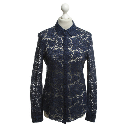 MSGM Lace blouse in blauw