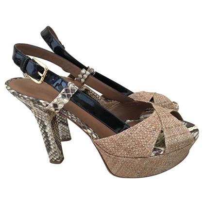 Dolce & Gabbana Platform Slingbacks