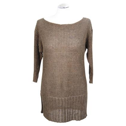 Ralph Lauren Linnen pullover in bruin