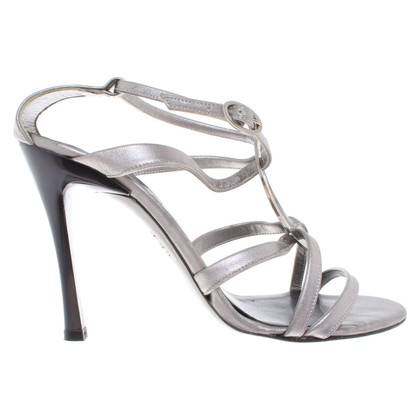 Karl Lagerfeld Silver-colored sandals