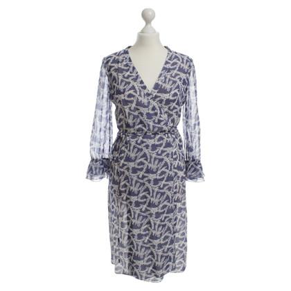 Hugo Boss Wrap dress with pattern