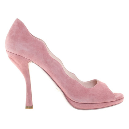 Prada Peeptoes in pink