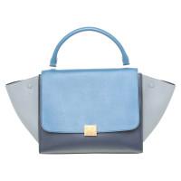 "Céline ""Trapeze Bag"" in Tri-color"