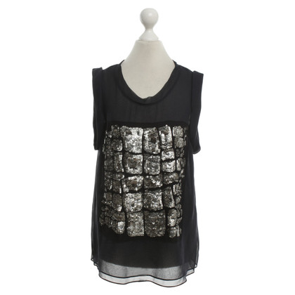 Phillip Lim Silk top with sequins