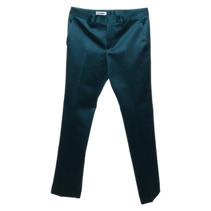 Jil Sander Pantaloni in verde scuro