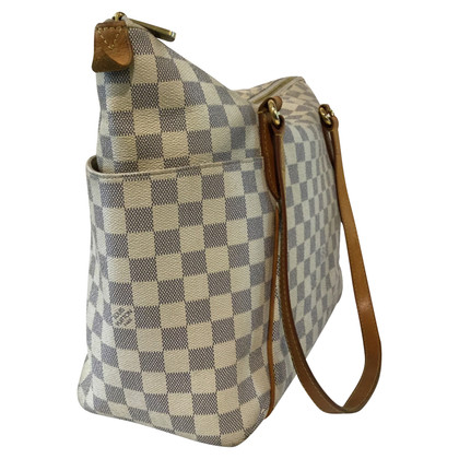 "Louis Vuitton ""Saleya MM Damier Azur Canvas"""