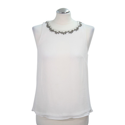 French Connection top in white