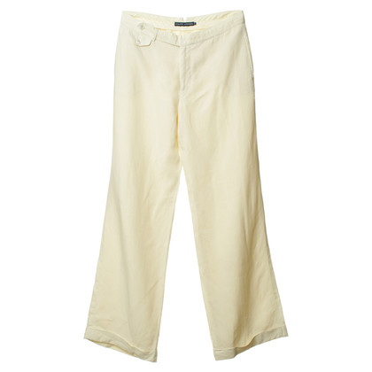 Ralph Lauren Cream-coloured linen trousers