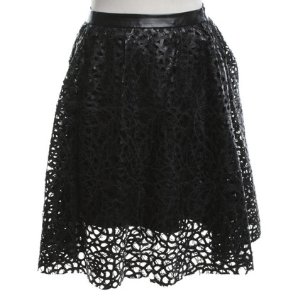 Karl Lagerfeld skirt in black