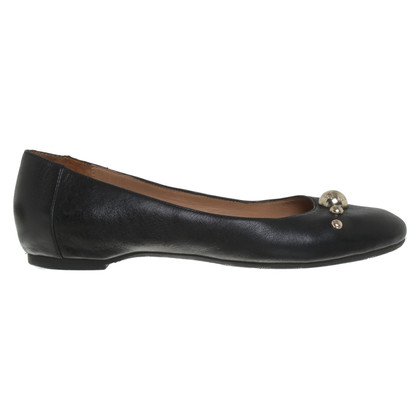 Armani Jeans Ballerinas in black