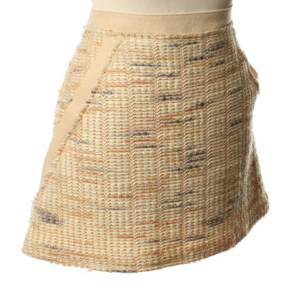 Missoni A short skirt in beige