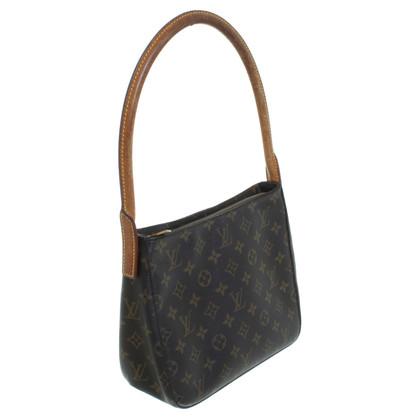 Louis Vuitton Handbag in monogram of canvas