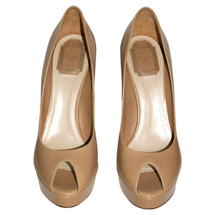 Christian Dior Peep-toes in Nude