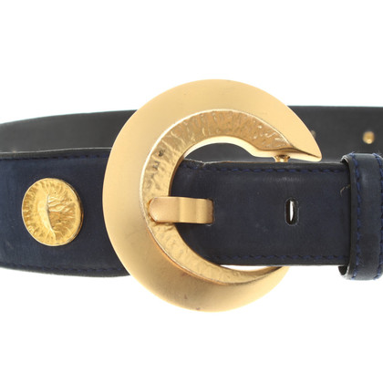 Escada Waist belt with metal applications