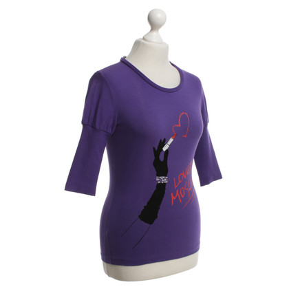 Moschino top in purple