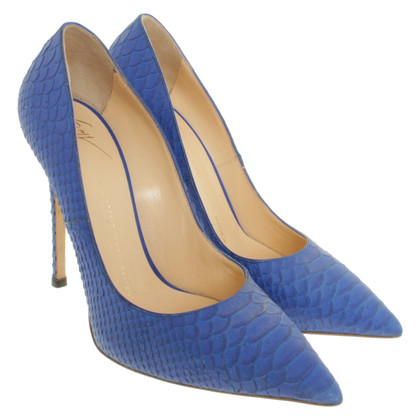 Giuseppe Zanotti pumps en bleu