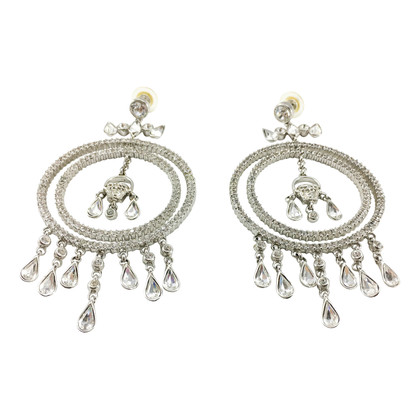Versace Earrings with gemstones