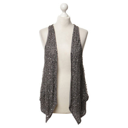 Day Birger & Mikkelsen Vest in grey with sequins