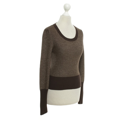 Max & Co Sweater in brown / gold