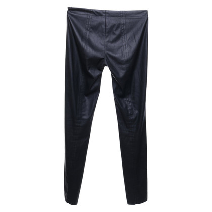 Cinque trousers in leather look